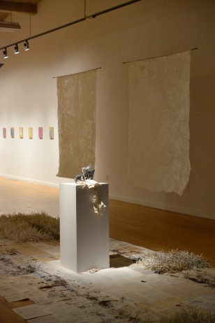 paper show at Des Lee Gallery