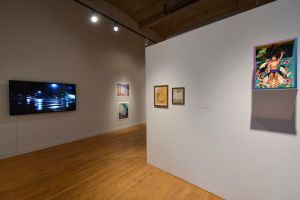 exhibtion at Des Lee Gallery