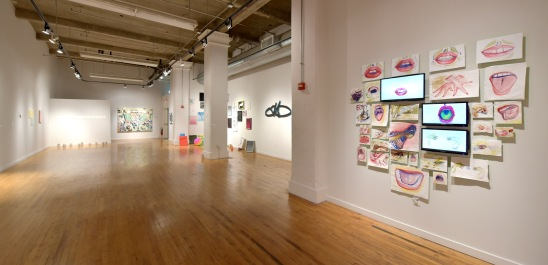 MFA 1 part 2 at Des Lee Gallery