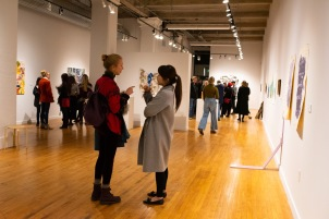 Parabola: Assembly exhibition, Des Lee Gallery, Washington University, St. Louis, MO