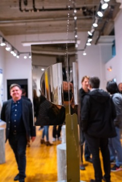 """Opening reception of the """"Decoys and Depictions: Images of the Digital"""" Exhibition at the Des Lee Gallery, Washington University, St. Louis, MO"""